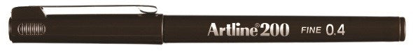 Fineliner Artline 200 Fine 0.4 dark brown