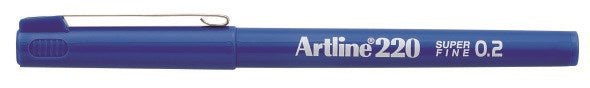 Fineliner Artline 220 SF 0.2 blue