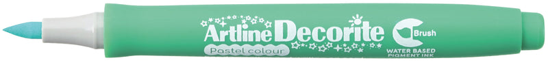 Artline Decorite Brush pastel green
