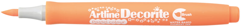 Artline Decorite Brush pastel orange