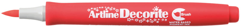 Artline Decorite Brush red