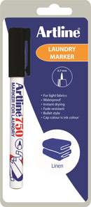 Artline 750/1Blist Laundry Marker