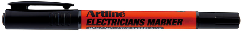 Artline electricians marker black