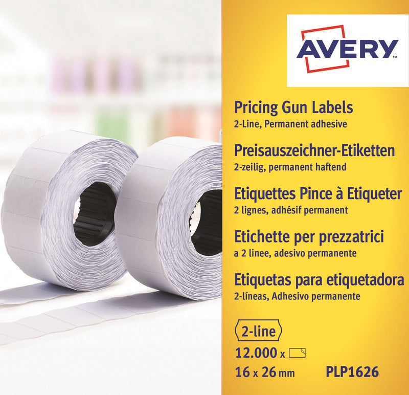 Labels 26x16 G2 White 10-rolls