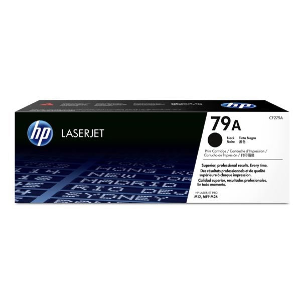 LaserJet 79A black toner cartridge