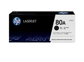 LaserJet 80A black toner cartridge