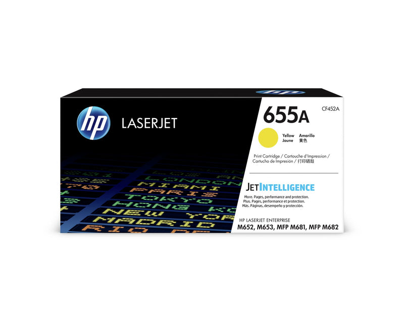 Color Laserjet 655A yellow toner