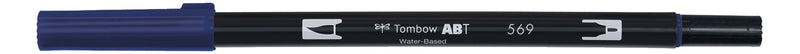 Tombow ABT Dual Brush 569 jet blue