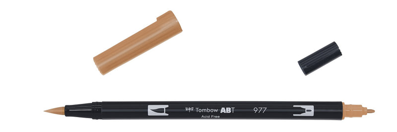 Tombow ABT Dual Brush 977 saddle brown