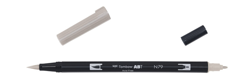 Tombow ABT Dual Brush N79 warm grey 2