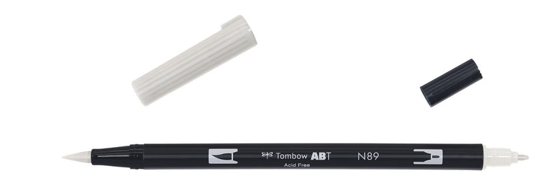 Tombow ABT Dual Brush N89 warm grey 1