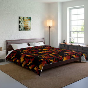 Flames Pattern Comforter