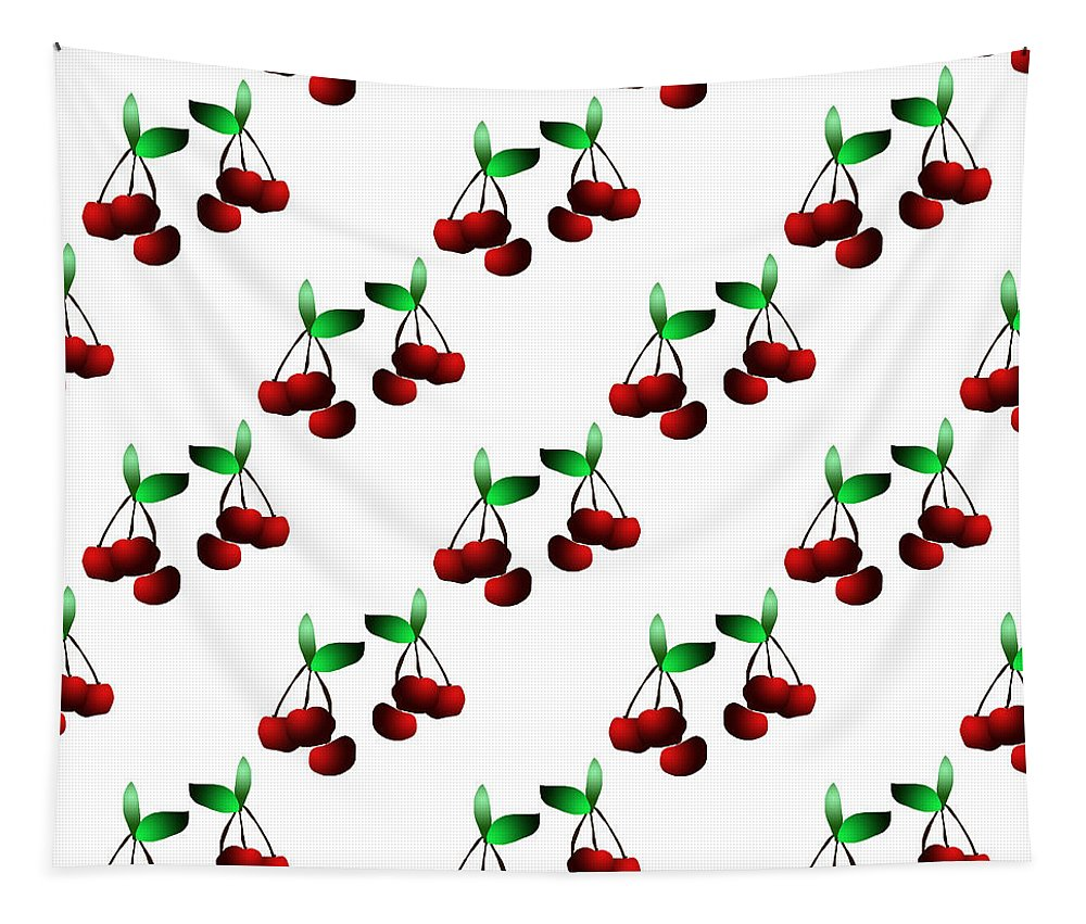 Cherries Pattern - Tapestry