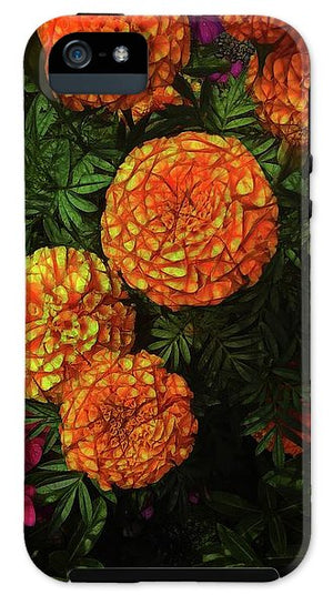 Large Marigolds - Phone Case