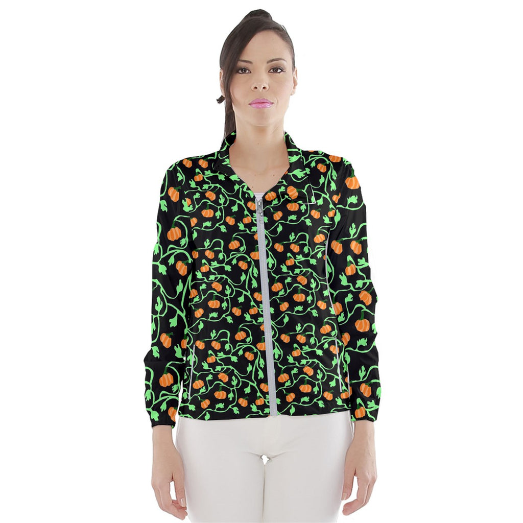 Pumpkin Vines Women's Windbreaker