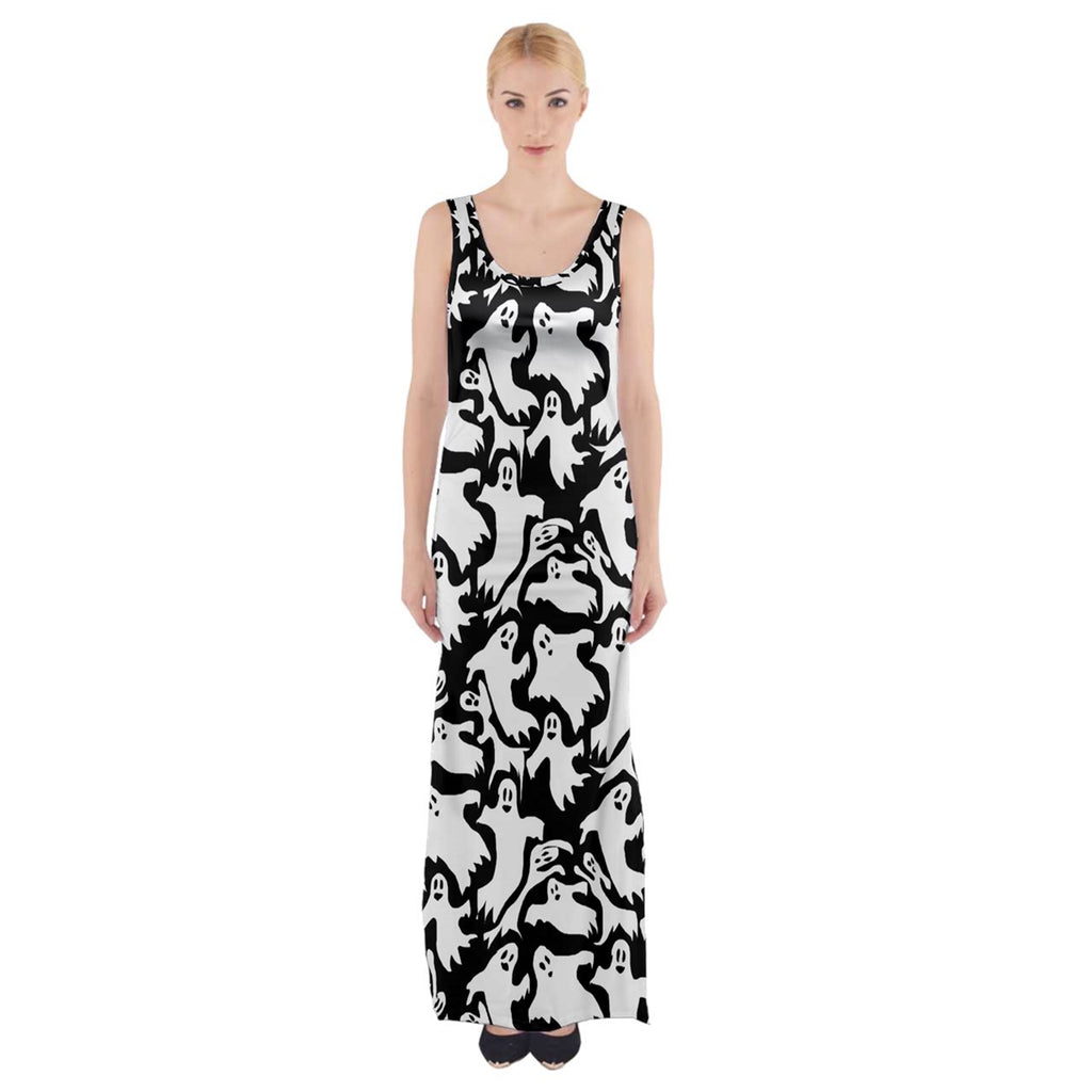 Ghosts Thigh Split Maxi Dress