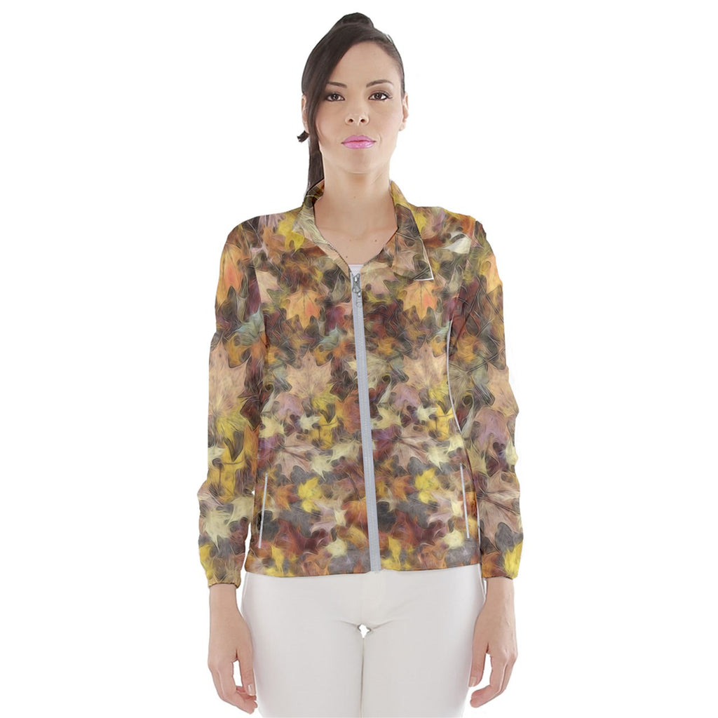 Late October Leaves Light Women's Windbreaker