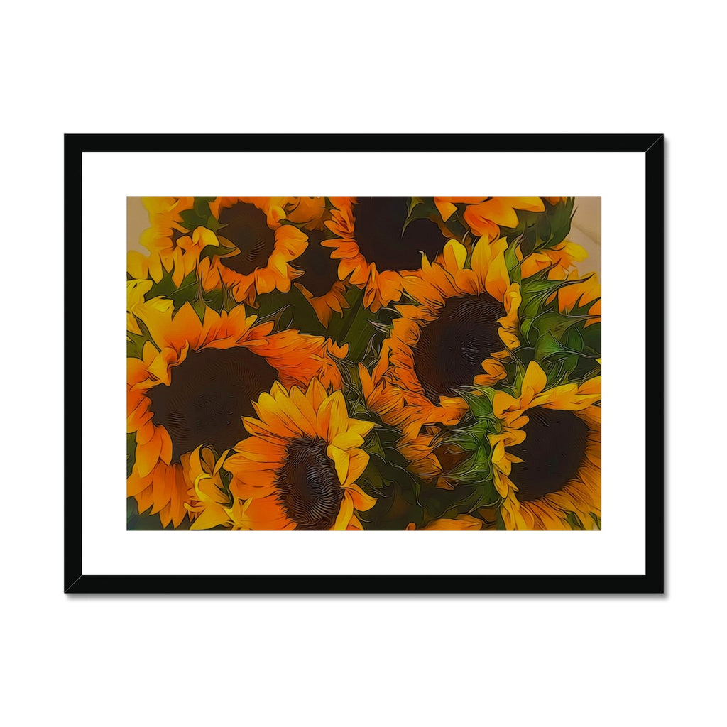 Sunflowers Framed & Mounted Print