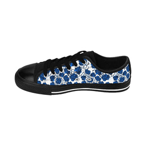 Blue Roses Women's Sneakers