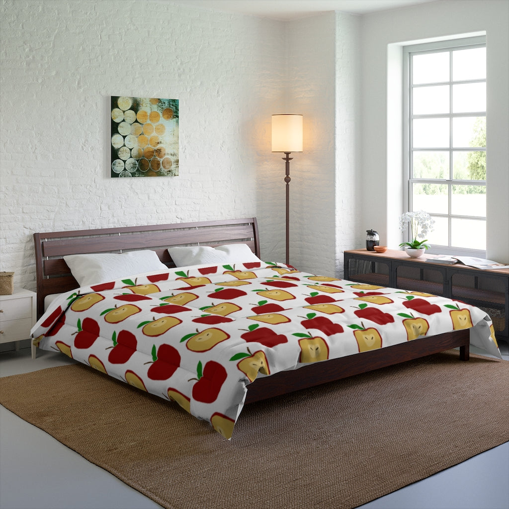 Apple Polkadots Comforter