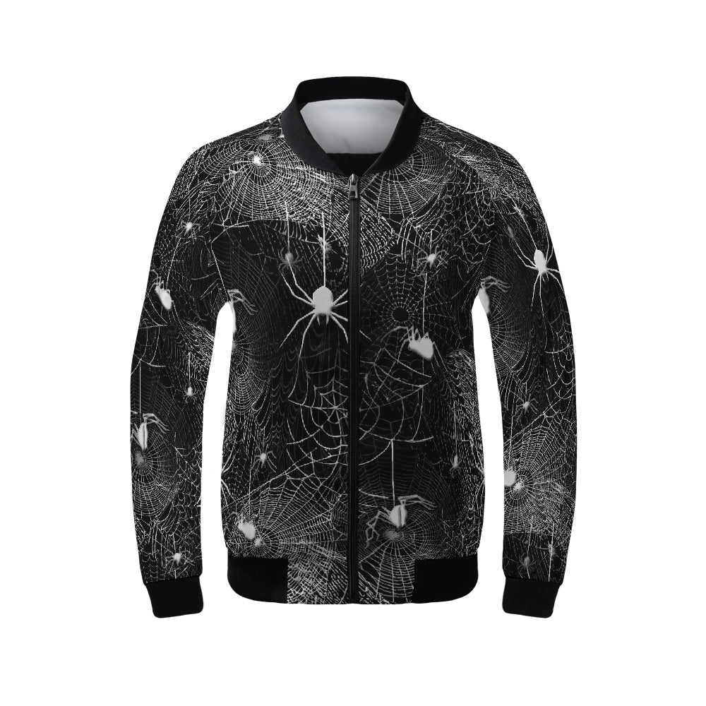 Spider Webs Women's Bomber Jacket