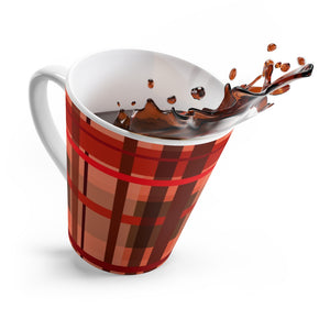 Fall Plaid Latte mug