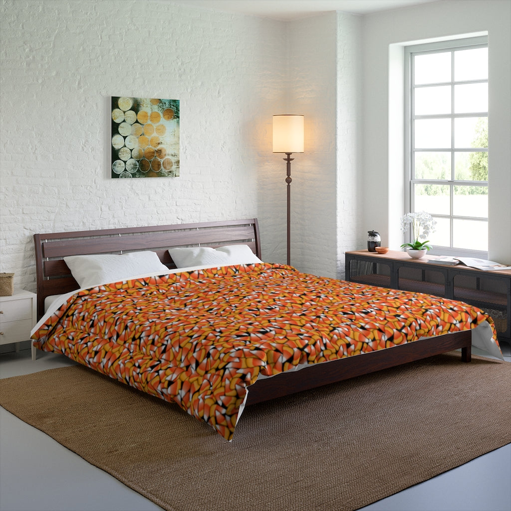 Candy Corn Pattern Comforter