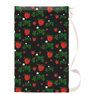 Wild Strawberries Laundry Bags