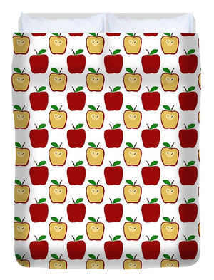 Apple Polkadots - Duvet Cover