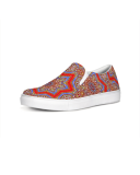 Medieval Kaleidoscope Slip-On Canvas Shoe