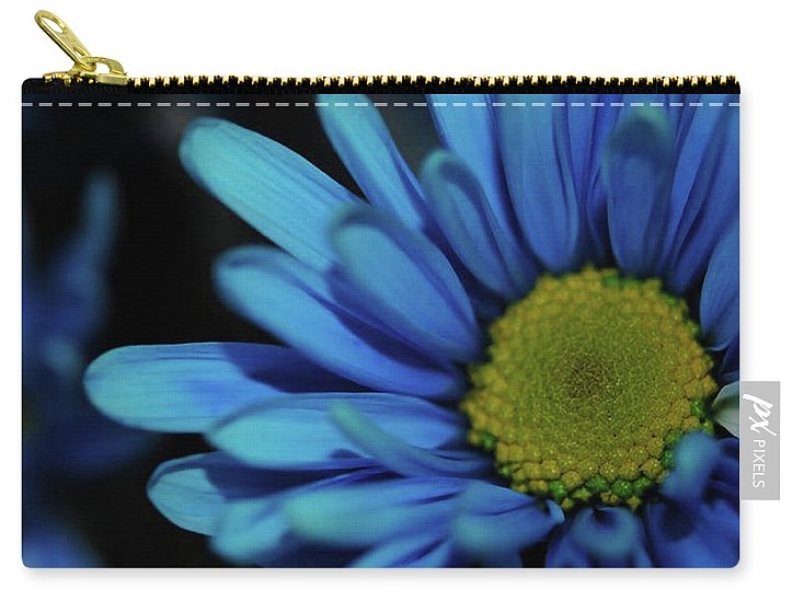 Blue Daisy - Carry-All Pouch
