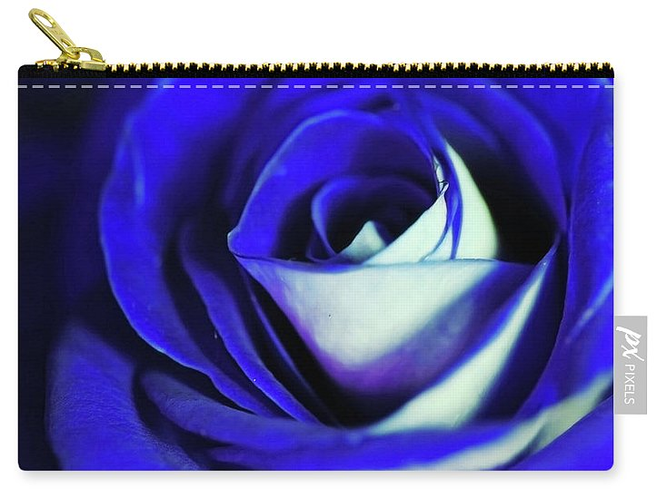 Blue Rose - Carry-All Pouch
