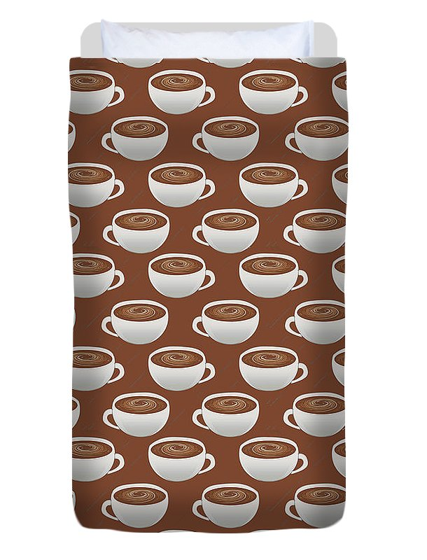 Coffee on Coffee - Duvet Cover