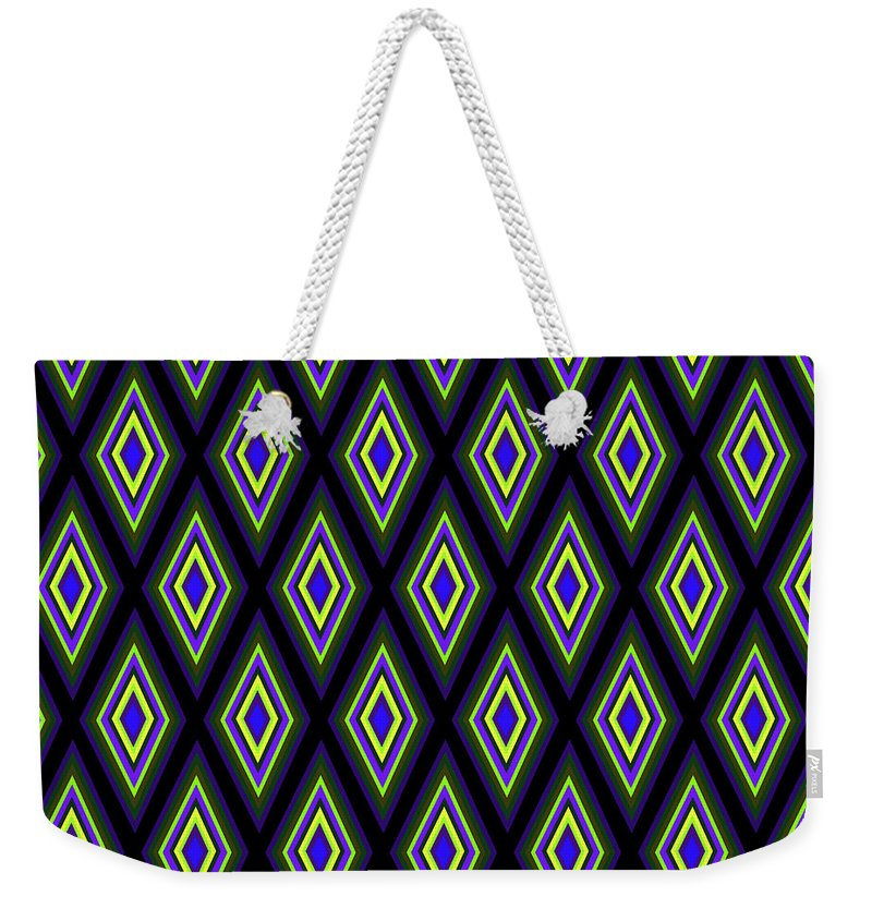 Colorful Diamonds Variation 2 - Weekender Tote Bag