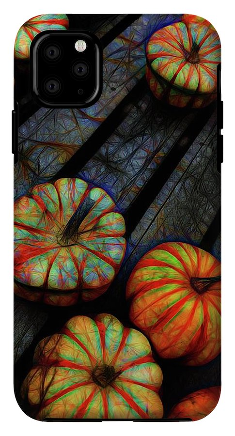 Colorful Fall Gourds - Phone Case