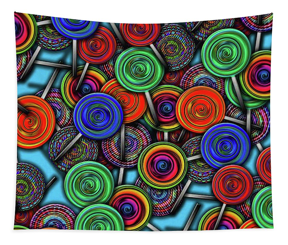 Colorful Lolipops - Tapestry
