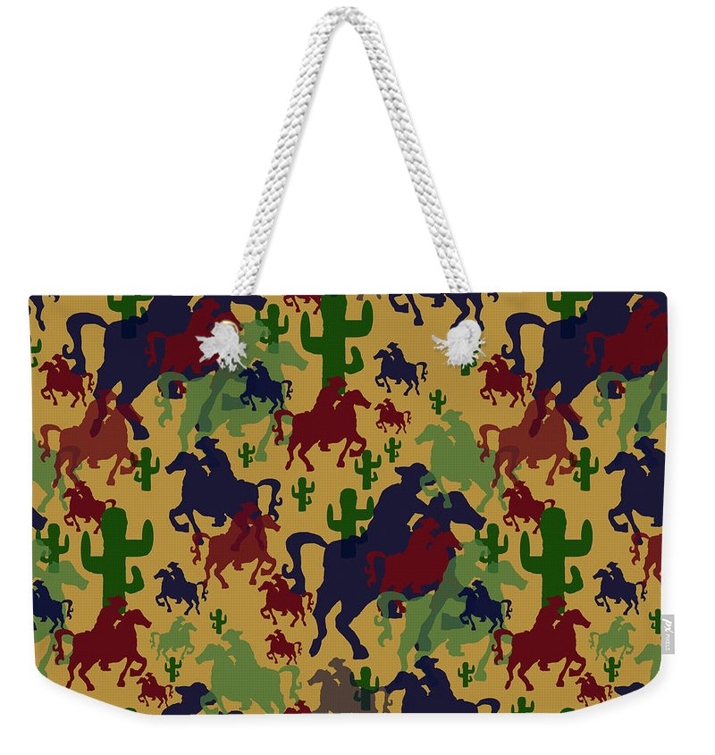 Cowboys Pattern - Weekender Tote Bag