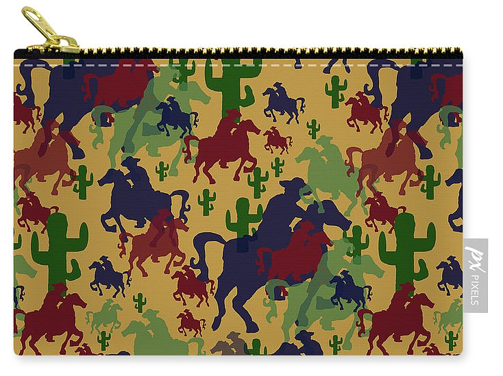 Cowboys Pattern - Carry-All Pouch
