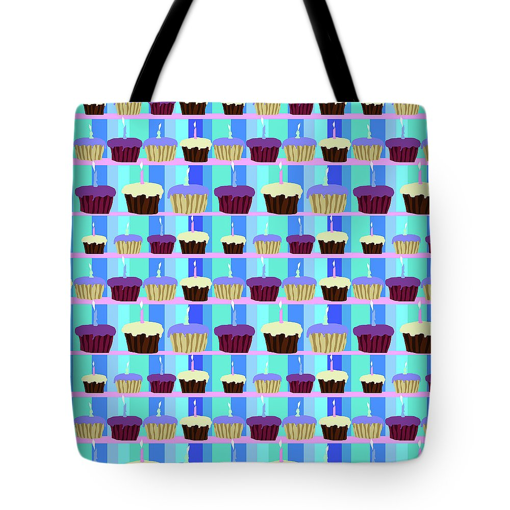 Cupcakes Pattern - Tote Bag