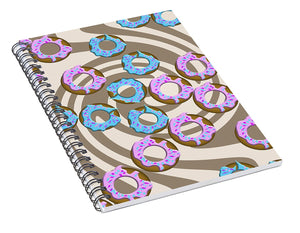Donuts - Spiral Notebook