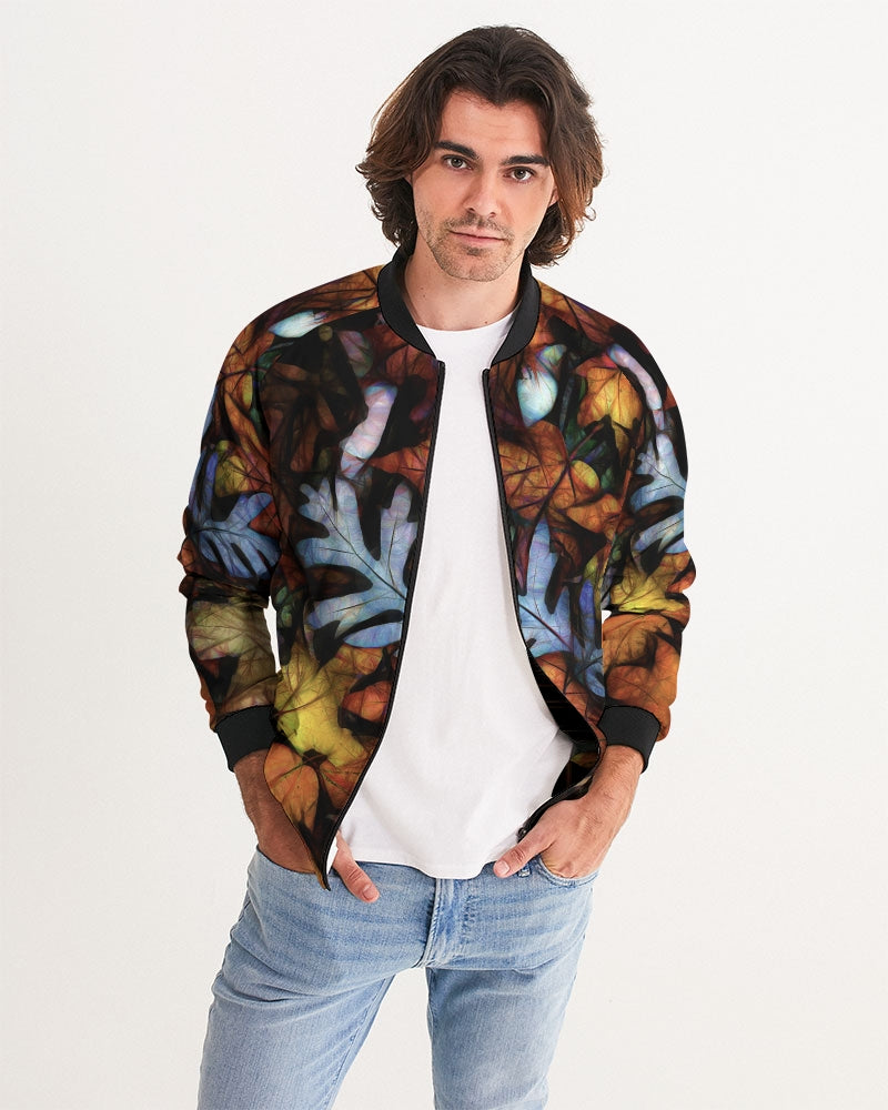 Mid October Leaves Men's Bomber Jacket