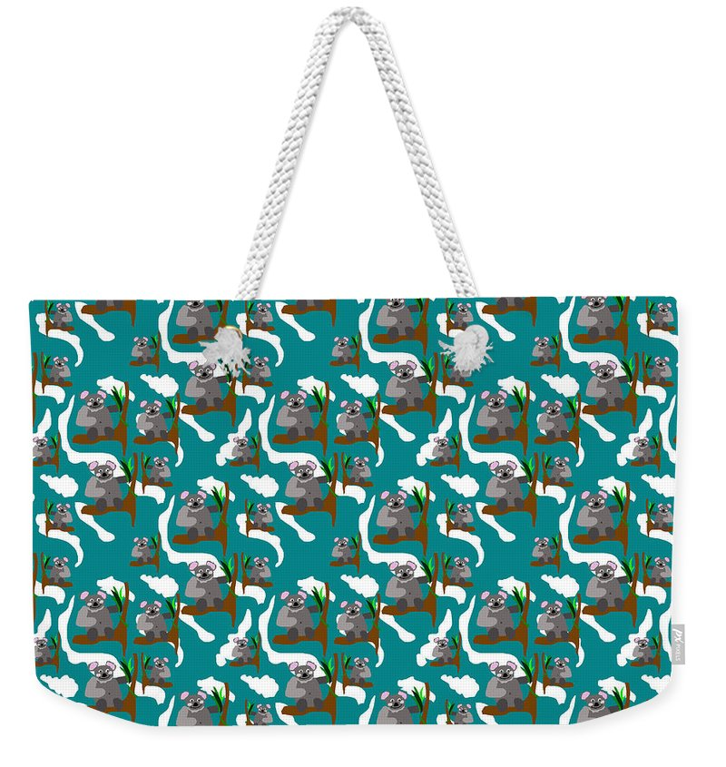 Koala Bears and Clouds - Weekender Tote Bag