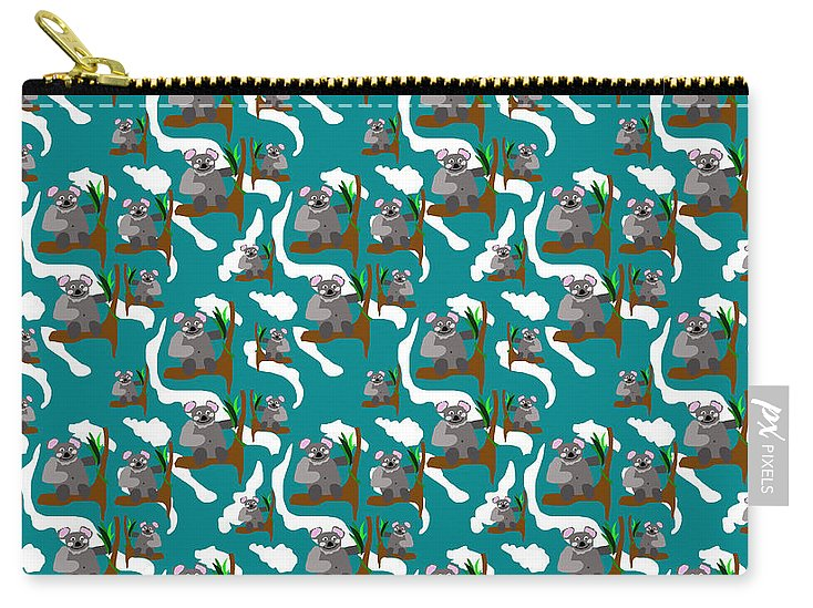 Koala Bears and Clouds - Carry-All Pouch