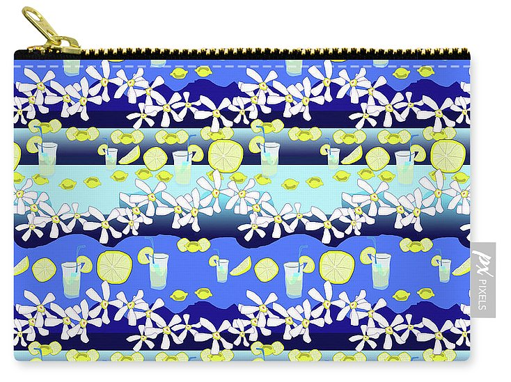 Lemonade Pattern - Carry-All Pouch