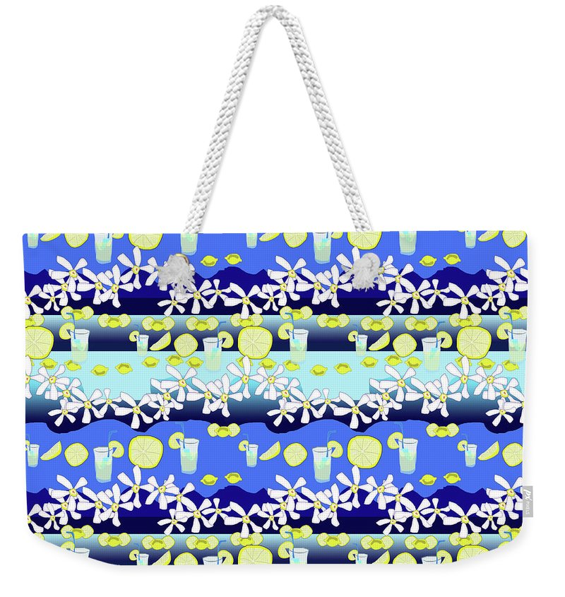 Lemonade Pattern - Weekender Tote Bag