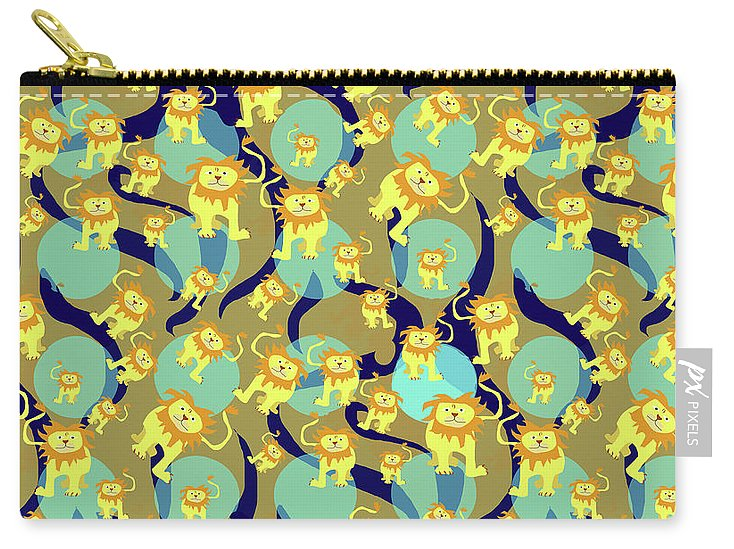 Lion Pattern - Carry-All Pouch