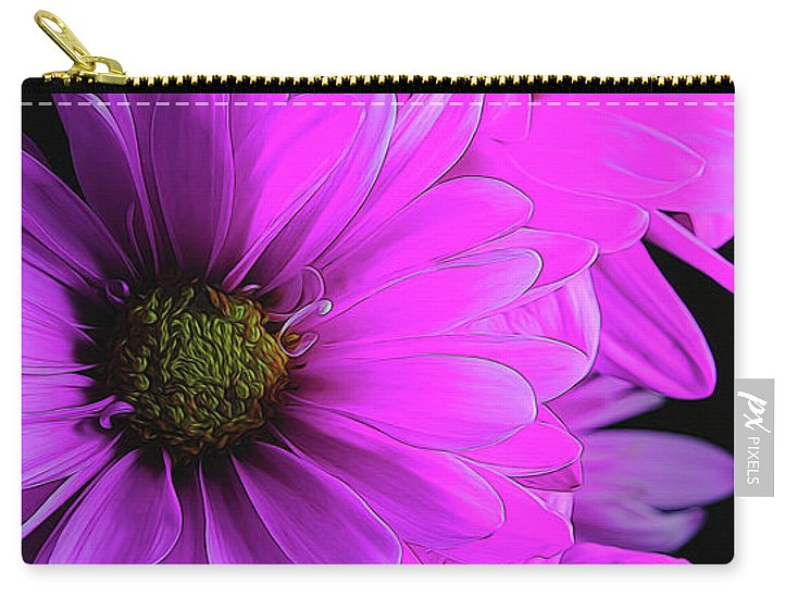 Pink Daisies - Carry-All Pouch