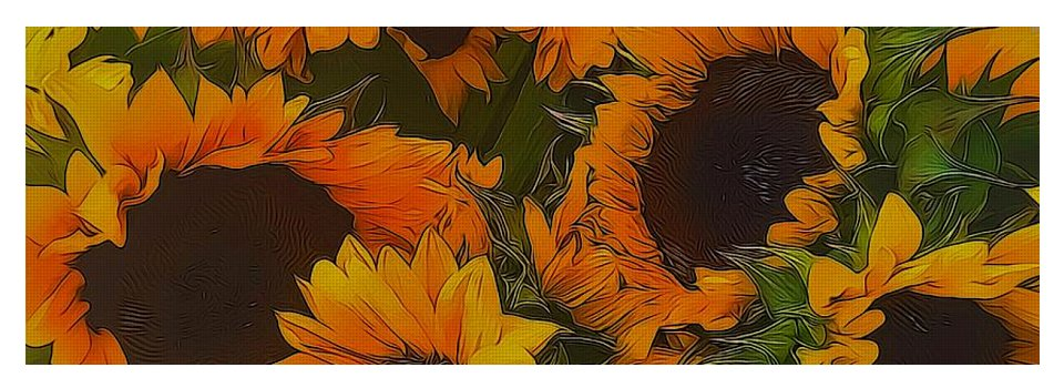 Sunflowers - Yoga Mat
