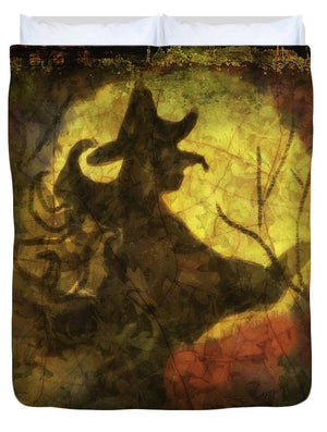 Witch on Texture - Duvet Cover