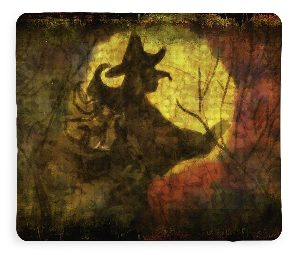 Witch on Texture - Blanket